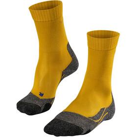 Falke TK2 Cool Sokken Dames, mustard